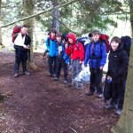 Scouts at Bear Grylls weekend 1
